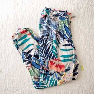 Roxy Floral Joggers M
